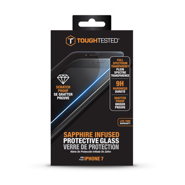 Tough Tested Sapphire Tempered Glass iPhone 7/8