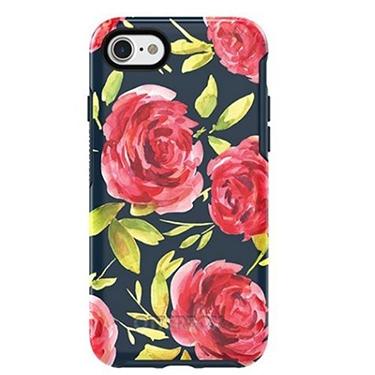 OtterBox iPhone 7/8 Symmetry Blue/Blue Bouquet
