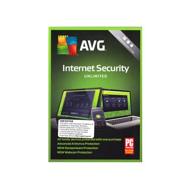 AVG Internet Security Unlimited Device 1Yr BIL OEM
