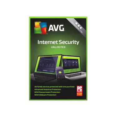 AVG Internet Security Unlimited Device 1Yr BIL