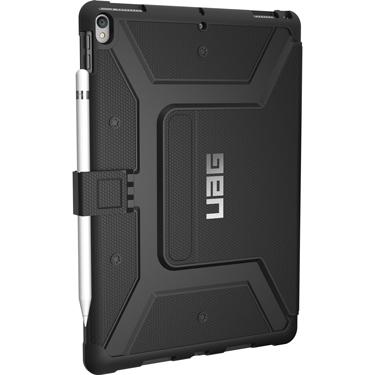 UAG iPad Pro 12.9in 2017 Aluminum Kickstand Black/Black