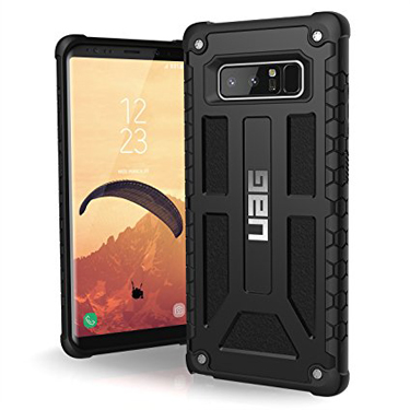 UAG Galaxy Note 8 Monarch Matte/Black Midnight