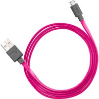 Ventev Charge & Sync USB-A to USB-C 2.0 Cable 3ft Pink