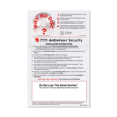 Trend Micro 2018 Antivirus+ 1-User OEM PKC