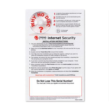 Trend Micro 2018 Internet Security 3-User OEM PKC