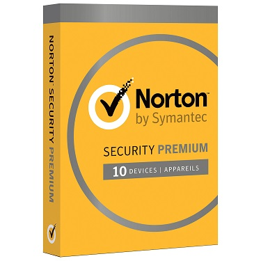 Norton Security Premium 10-Devices w/25 GB Backup BIL