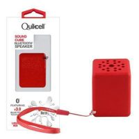 Colour Burst Sound Cube Liquid Red Bluetooth Speaker
