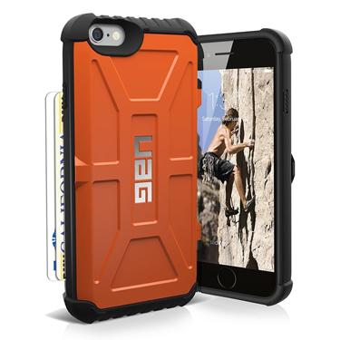 UAG iPhone 6S/7/8 Trooper Rust/Black Card case