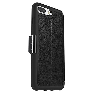 OtterBox iPhone 7+/8+ Strada Folio Leather Black/Black