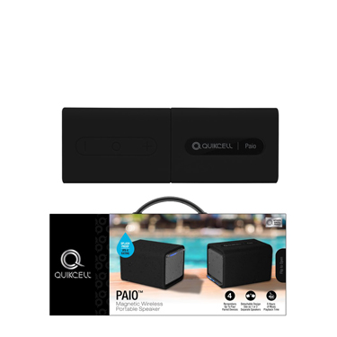 Quikcell Speaker PAIO Wireless Magnetic Speaker BT