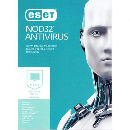 Eset Nod32 Antivirus V10 1-User 1-Year BIL