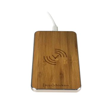 Fuse Chicken Qi Wireless Gravity Touch Bamboo Pad