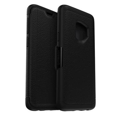 OtterBox Galaxy S9 Strada Folio Leather Black/Grey