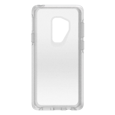 OtterBox Galaxy S9+ Symmetry Clear/Silver Flake Stardust