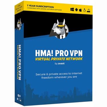 AVG HMA Pro VPN 2018 1-Year BIL