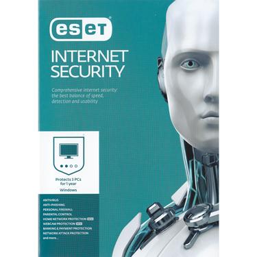 Eset Internet Security V10 3-User 1-Year BIL