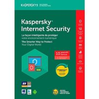 Kaspersky Internet Security 2018 10-User 1Yr BIL