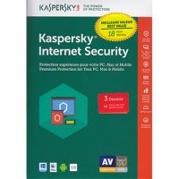 Kaspersky Internet Security 2018 3-User 18 Month BIL