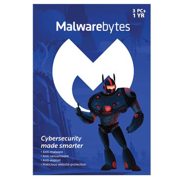 Malwarebytes Premium v3 3-User 1-Year BIL