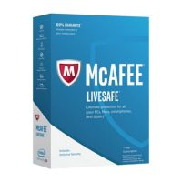 Mcafee Livesafe Ultimate Protection Device Attach 1Yr