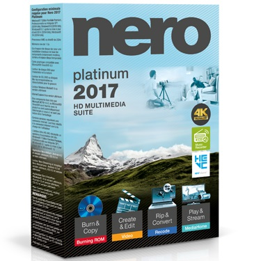 Nero 2017 Platinum Multimedia Suite BIL