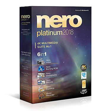 Nero 2018 Platinum 4K Multimedia Suite BIL
