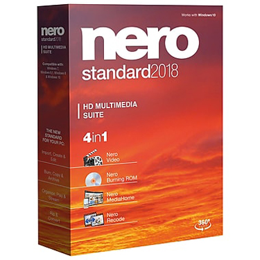 Nero 2018 Standard HD Multimedia Suite BIL