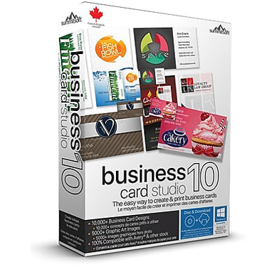 Summitsoft Business Card Studio Pro 10