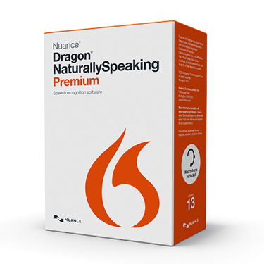 Dragon Naturally Speaking 13 Premium w/Digital Voice Rec