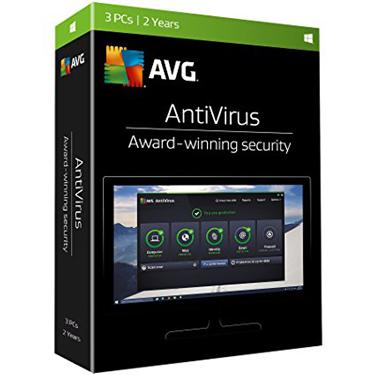 AVG Antivirus 3-User 2Yr BIL