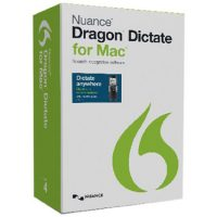 Dragon Dictate 4.0 for Mac Mobile Ed. w/Digital Voice Rec