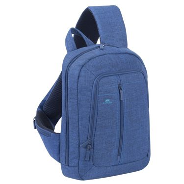 RivaCase Laptop Sling Backpack 13.3in Blue 7529