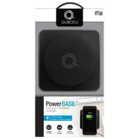 Quikcell Qi Certified Wireless Charger PowerBASE 10W Black