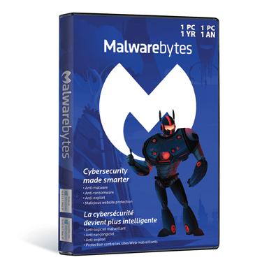 Malwarebytes Premium v3 1-User 1Yr Tech Edition BIL