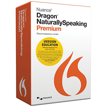 Dragon Naturally Speaking 13 Premium Francaise Student
