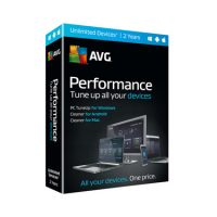 AVG Performance Tuneup & Clean Unlimited Device 2Yr BIL