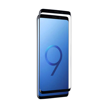 Nitro Galaxy S9 Tempered Glass Curved Black