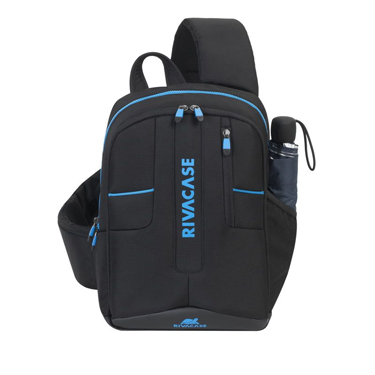 RivaCase Laptop Drone Slingbag 13.3in Borneo 7870 Black