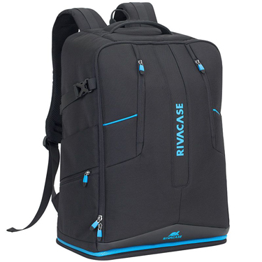 RivaCase Laptop Backpack 16in Drone Borneo 7890 Black