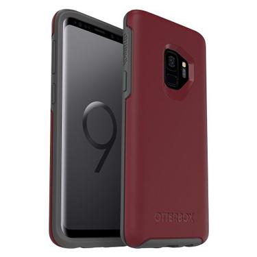 OtterBox Galaxy S9 Symmetry Red/Grey Fine Port