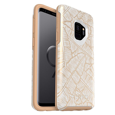 OtterBox Galaxy S9 Symmetry White/Brown Throwing Shade