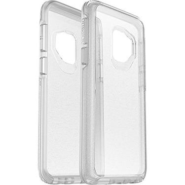 OtterBox Galaxy S9 Symmetry Clear/Silver Flake Stardust