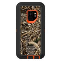 OtterBox Galaxy S9 Defender Orange/Black Realtree Camo