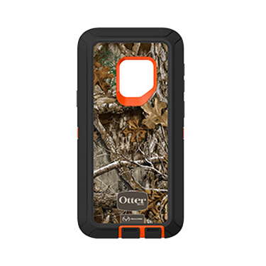 OtterBox Galaxy S9 Defender Orange/Black Max 5 Camo