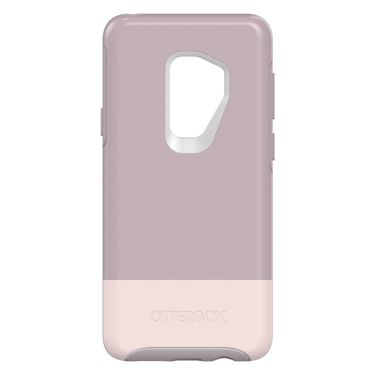 OtterBox Galaxy S9+ Symmetry White/Purple Skinny Dip