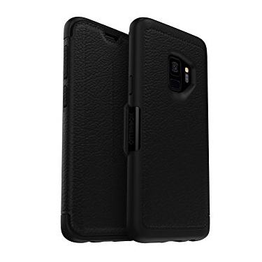 OtterBox Galaxy S9+ Strada Folio Leather Black/Grey