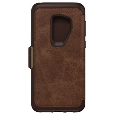 OtterBox Galaxy S9+ Strada Folio Leather Brown/Brown