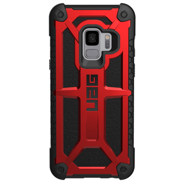 UAG Galaxy S9 Monarch Red/Black Crimson
