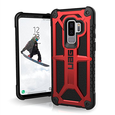 UAG Galaxy S9+ Monarch Red/Black Crimson
