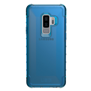 UAG Galaxy S9+ Plyo Blue/Clear Glacier